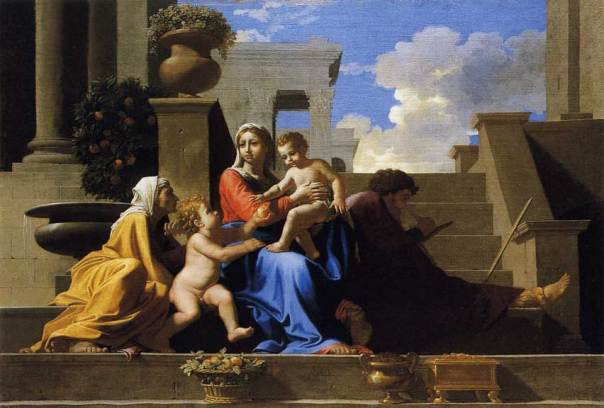 poussin-holy-family-stairs