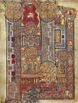 Bogato zdobiony początek Ewangelii św. Jana