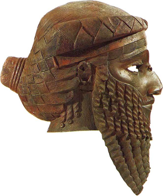 akkadianrulericonfacingright król Akadu