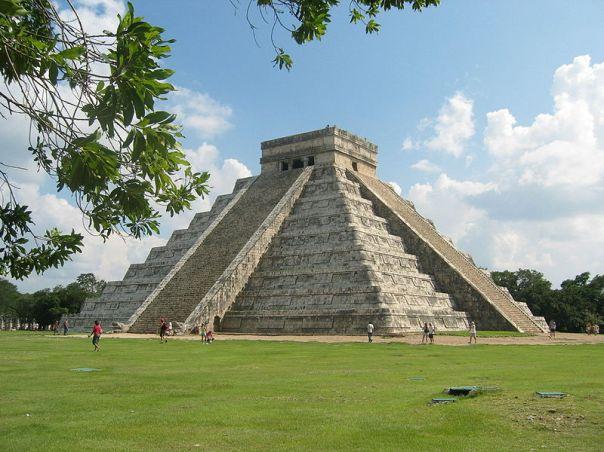 chichen itza el castillo piramida kukulkana
