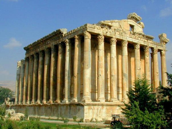 Świątynia Bachusa w Baalbek