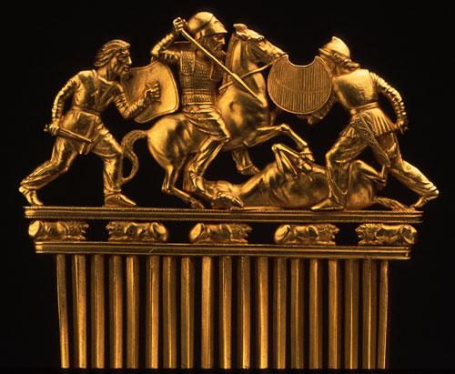 scytyjski-grzebien Hermitage photo courtesy of The Metropolitan Museum of Art