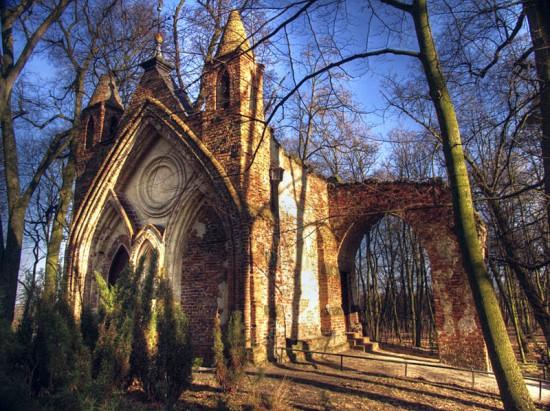 Arkadia dom gotycki