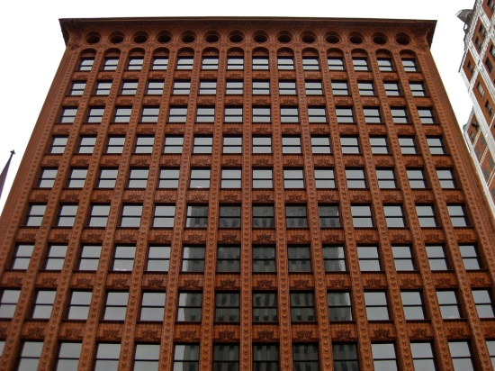 Dankmar Adler and Louis Sullivan / Prudential Building (formerly Guaranty Building) / Buffalo, New York / 1895-1896