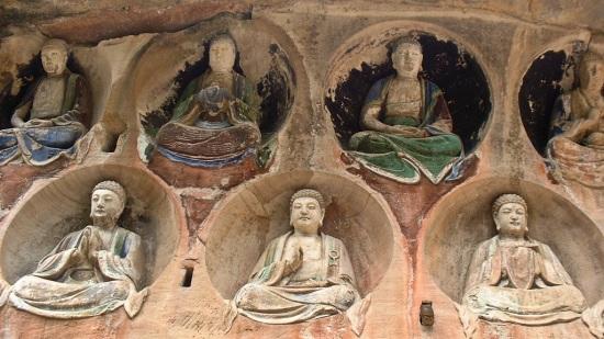 dazu buddhas