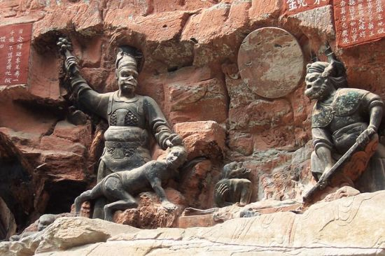 Dazu_rock_carvings_baoding_demons_1