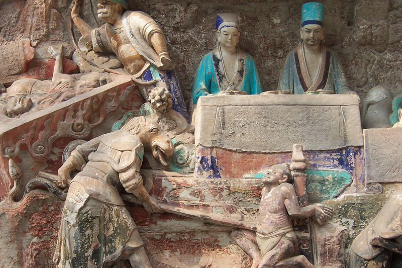 Rzeźby skalne z dazu
