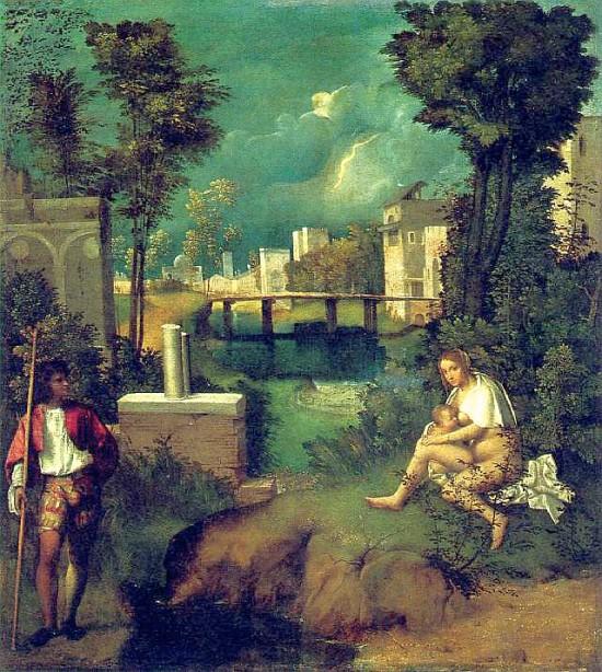 Giorgione - La Tempesta ( Burza )