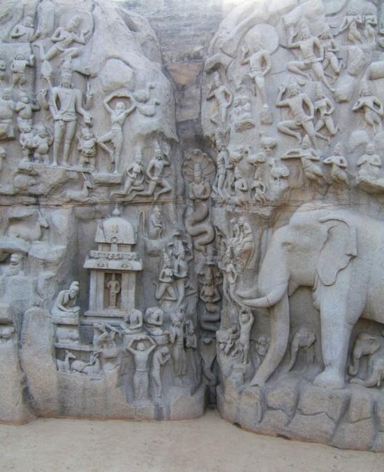 Gangawatarana Mahabalipuram