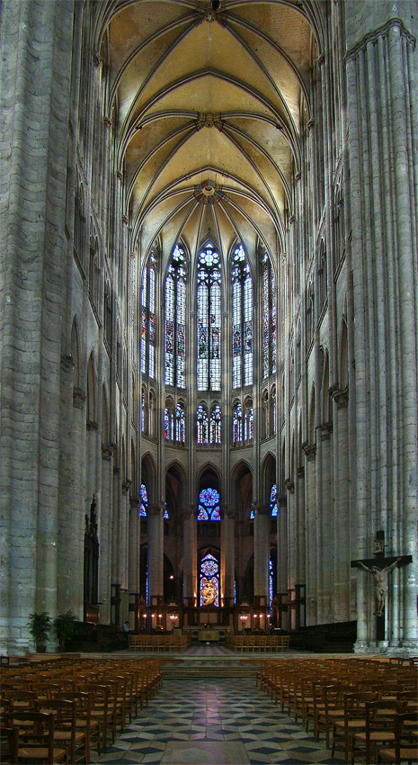 Beauvais choir chor