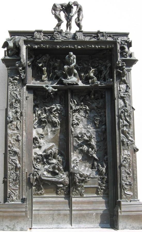 Rodin brama piekieł