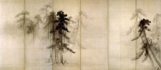 Pine_Trees - Hasegawa Tohaku